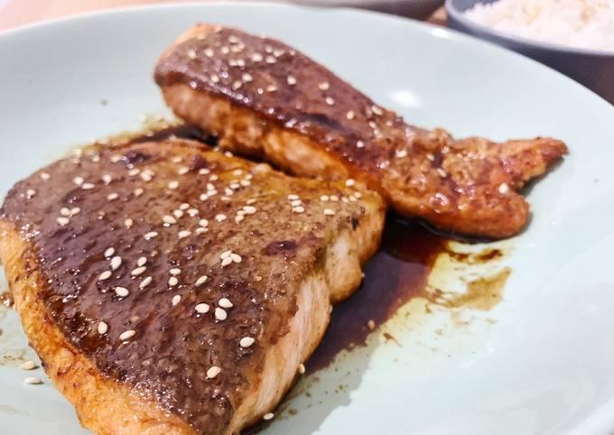 Salmon Teriyaki ala Just One Cookbook