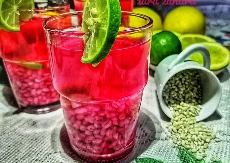 Barli sirap lemon dan limau nipis.   #Minuman #MarathonRaya  #Minggu Kedua - resepipouler.com