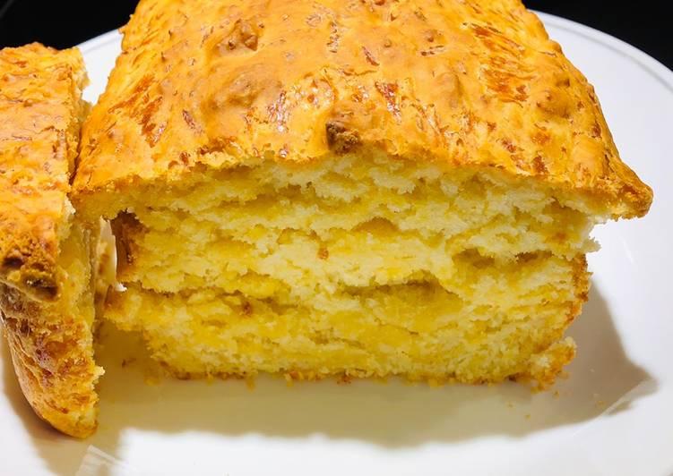 Easiest Way to Prepare Favorite No Knead Cheesy 🧀Beer 🍺 Bread 🍞