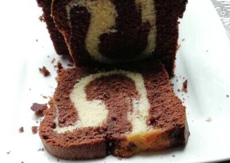 Marmor-Schoko-Vanille-Kuchen mit oder ohne Glasur!!!