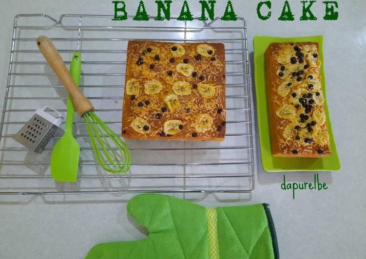 Banana Cake 🍌🍌🎂#dapurelbeweek9