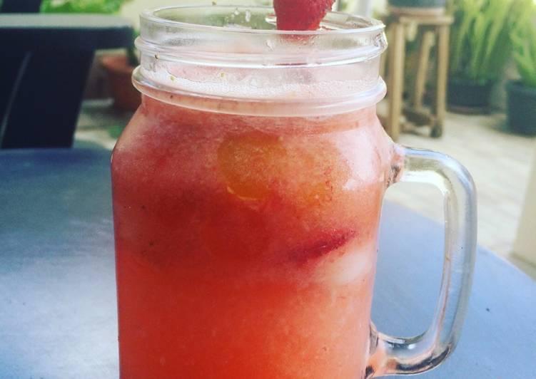 Ice tea strawberry 🍧 🍓