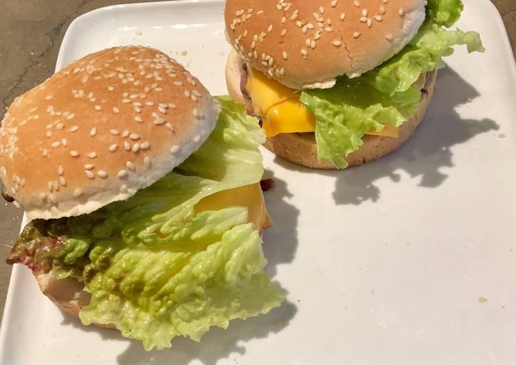 La Délicieuse Recette du Cheese burger