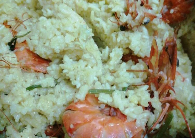 Resipi Nasi Minyak Udang Oleh Roselina Hanid Cookpad