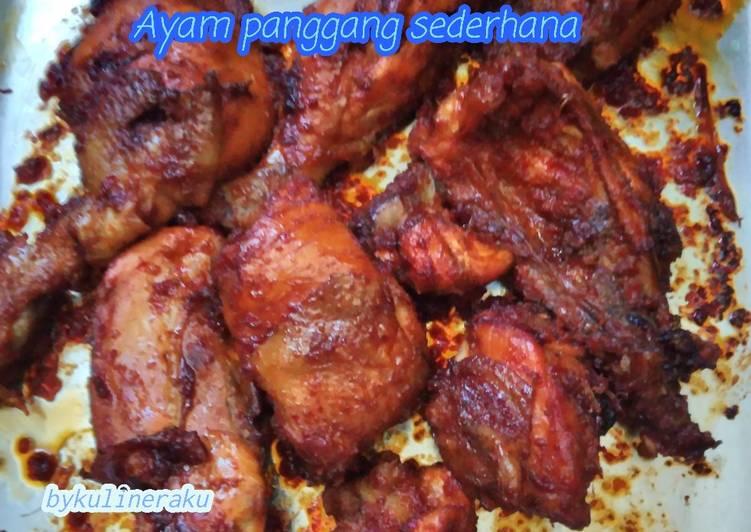 Ayam Panggang sederhana - cookandrecipe.com