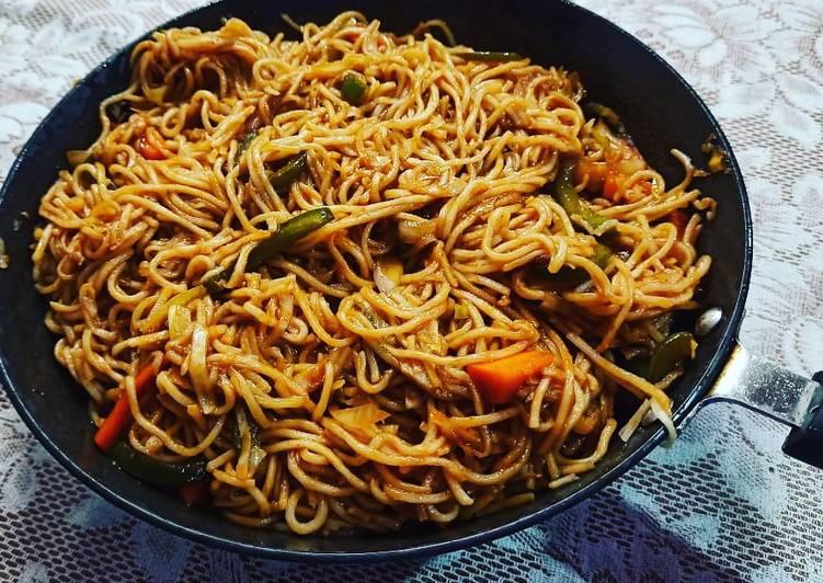 Easiest Way to Make Award-winning Hakka Noodles