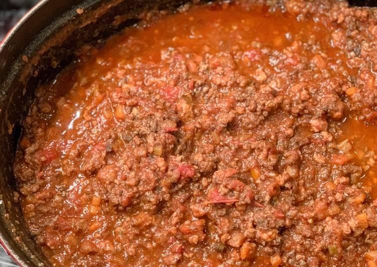 Recipe: Perfect Elena's Ragu sauce – Tuscan style