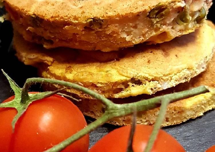 Pancake de legumes