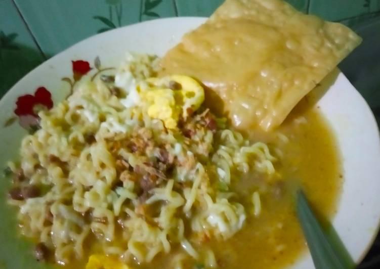 Resep Mie Rebus Empal Gentong dan Telur istimewa