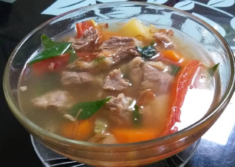 Sop daging sapi