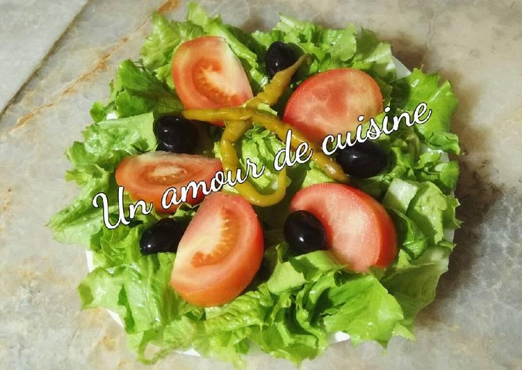 Salade laitue/tomate