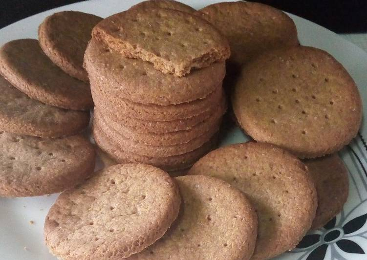 Steps to Prepare Award-winning Homemade Digestive ginger biscuits
