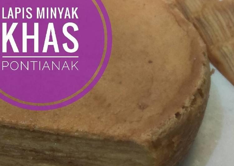 Resep Lapis Minyak Khas Pontianak Oleh Lyta Cookpad