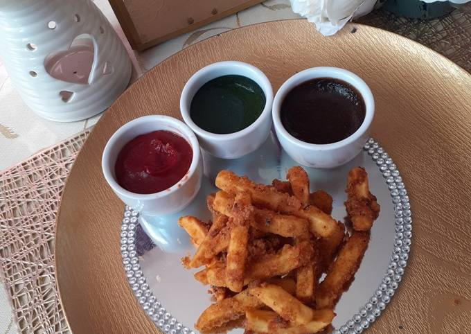 CCC French Fries Crispy Crunchy Coated French Fries