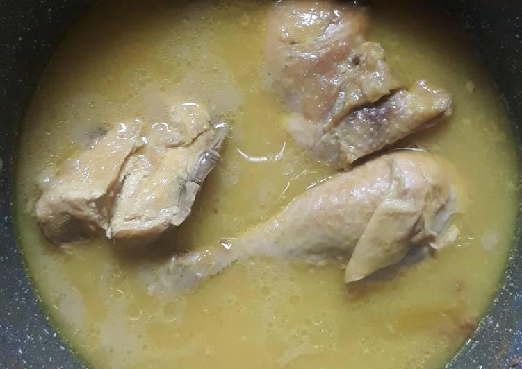 Opor Ayam Tanpa Santan