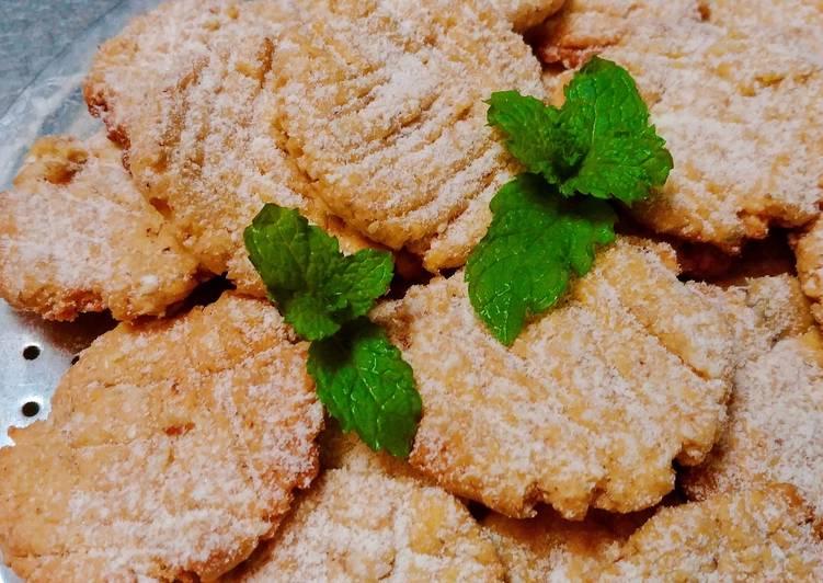 Unmixer Sesame Coconut Cookies