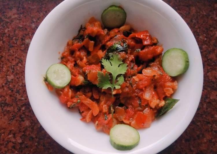 Spicy Tomato Sabzi