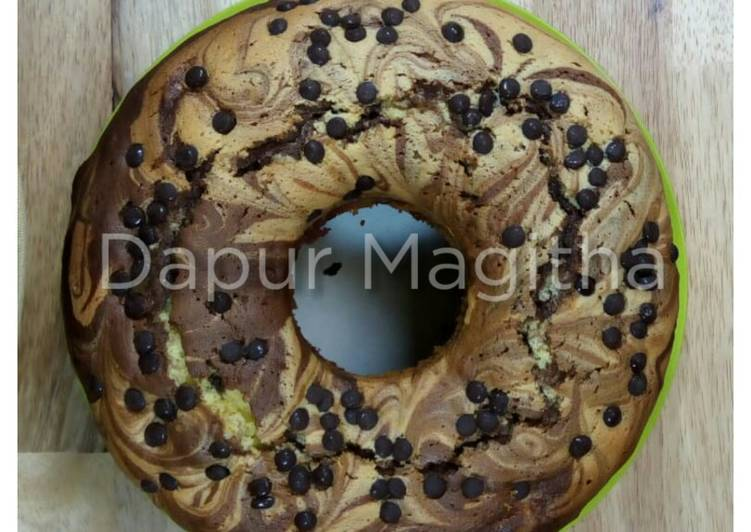 Zebra cake - cookandrecipe.com