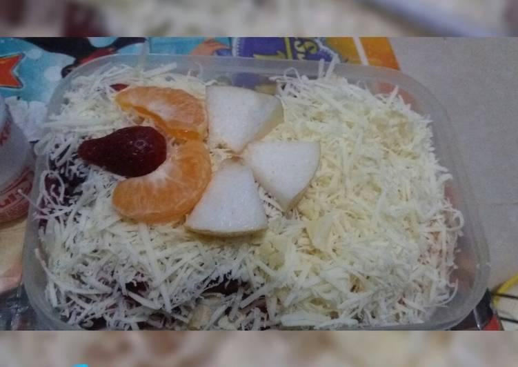 Salad buah seadanya - cookandrecipe.com