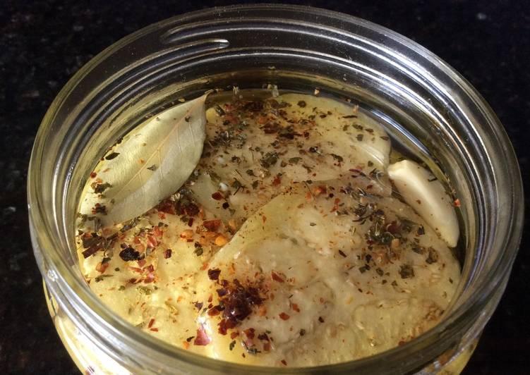 Easiest Way to Prepare Yummy Pickled Eggplant (Escabeche de Berenjenas)