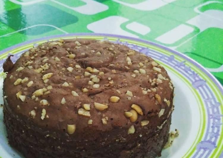 Brownies kukus 3telur (takaran gelas)
