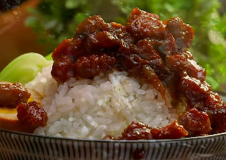 Dell-icious Minced Pork Rice