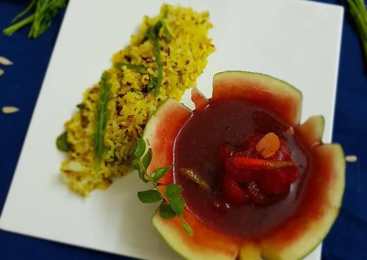 5 Minute Recipe of Blends Watermelon Charu