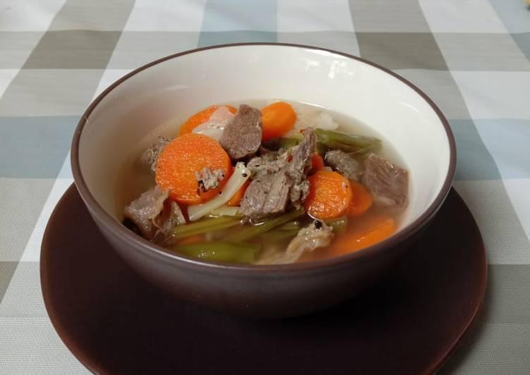 Beef Soup (Sop Daging)