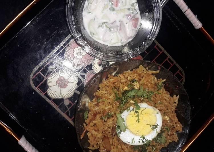 10 Minute How to Prepare Ultimate Jhatpat Egg Biryani