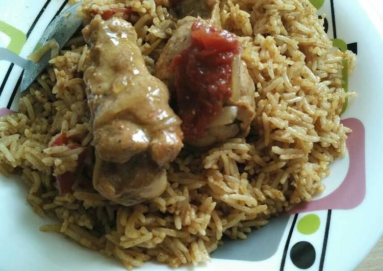 Nasi Ayam Biryani