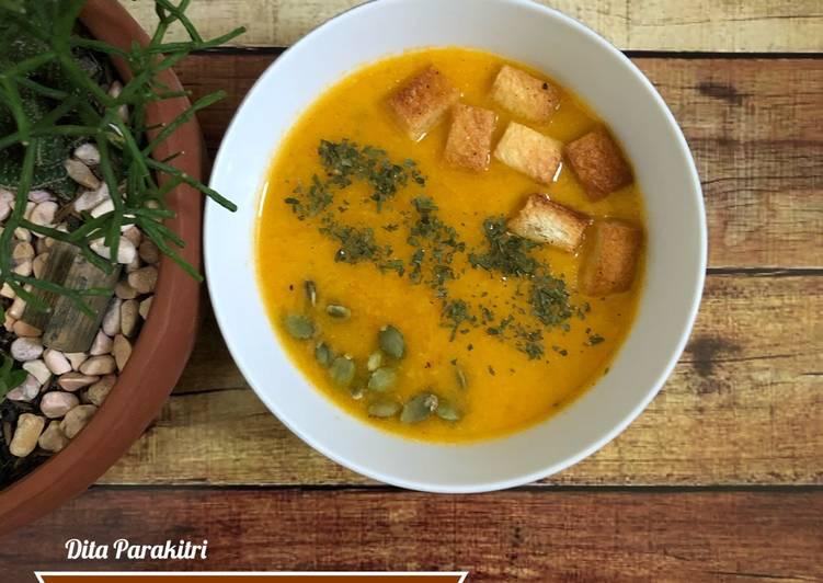 #34 Sup Krim Wortel