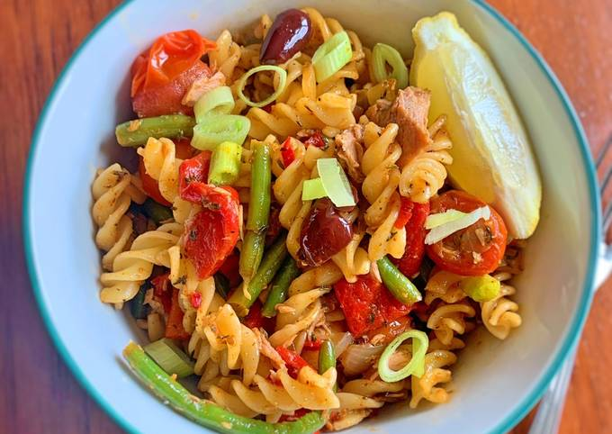 Delicious throw it all together pasta