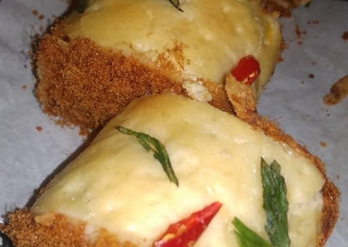 Roti gulung abon a.k.a floss Roll