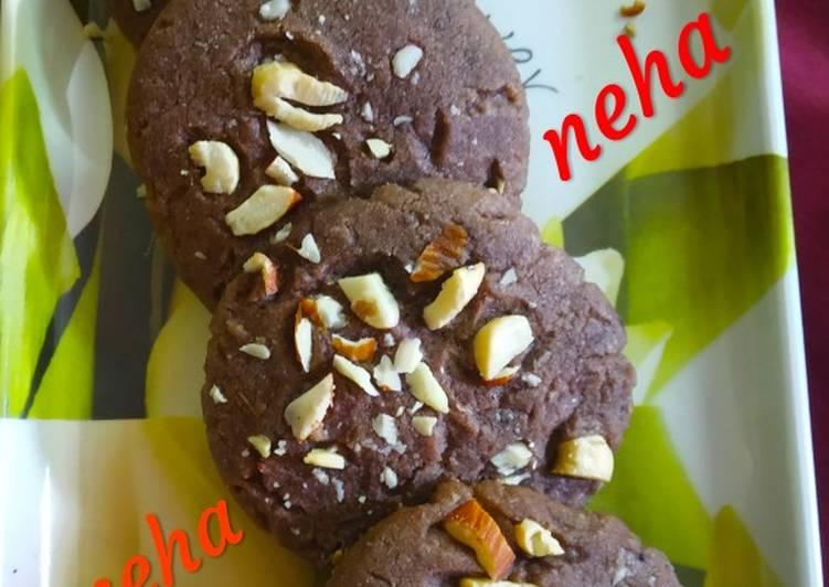 Chocolate homemade cookies