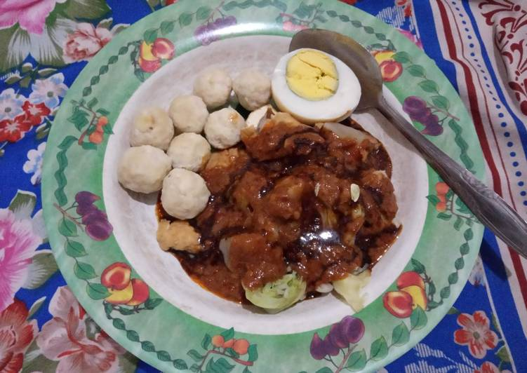 Siomay bakso tempe (diet)