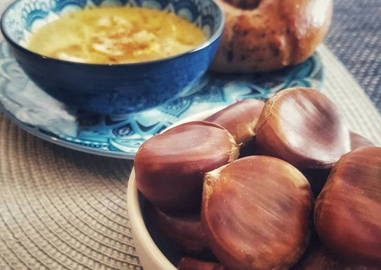 Recipe: Yummy Chestnut Soup