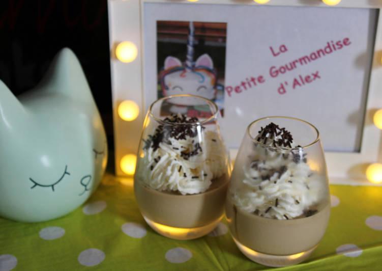 Recette De Café liégeois façon panna cota