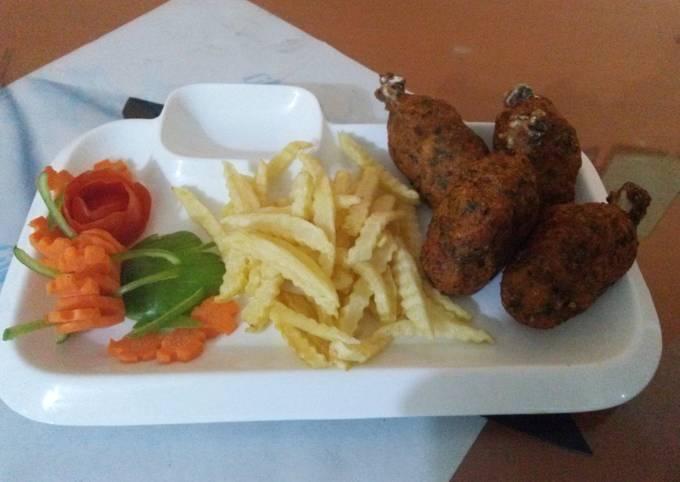Restaurant style drum sticks#iftar with huma contest#iftari time#yummy food#cookpad pakistan