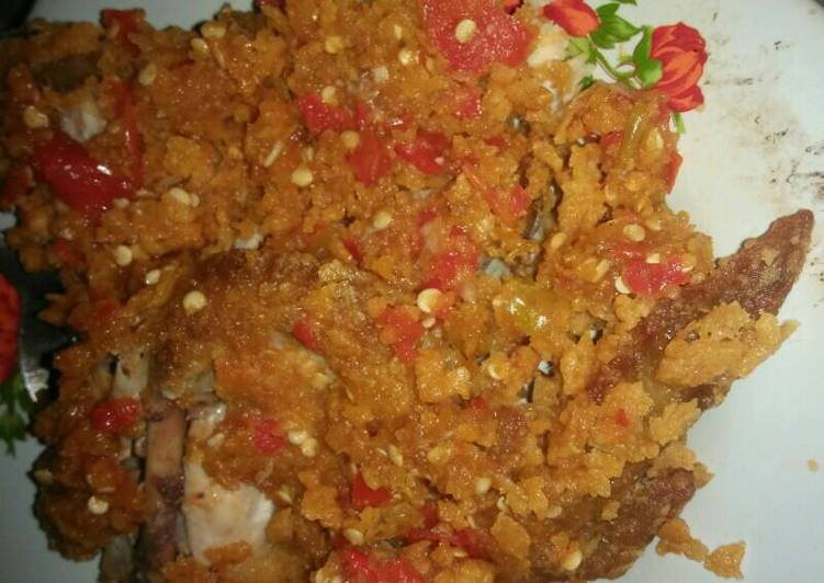 Ayam Geprek/Geprek Bensu KW