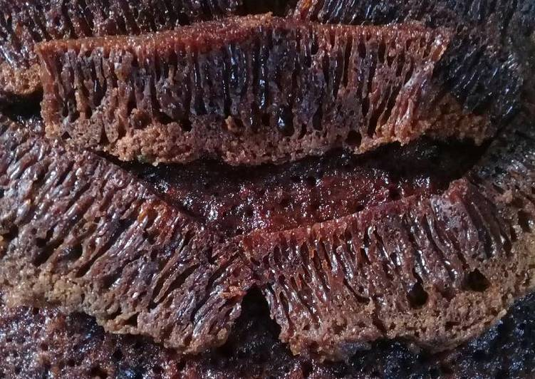 resep bikin Kue Karamel atau Sarang Semut. (no mixer & oven) - Sajian Dapur Bunda