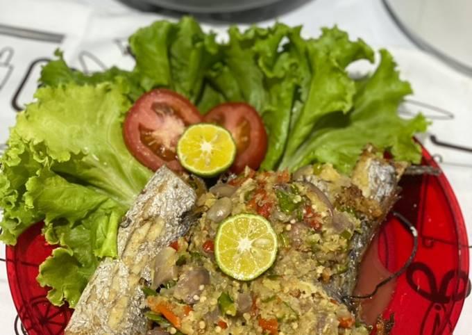 Ikan Layur Cobek Khas Sunda