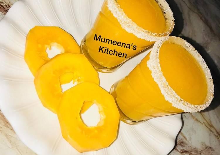 Pawpaw smoothie recipe by mumeena's Kitchen