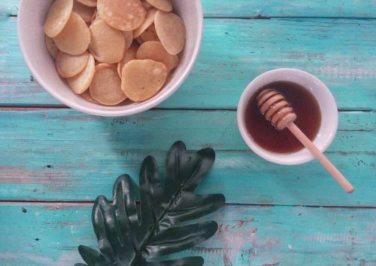 Mini pancake cereal 🥞 (takaran sendok)
