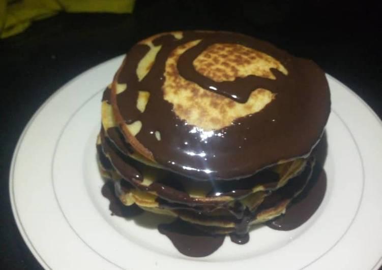 Fluffy Vanilla pancake