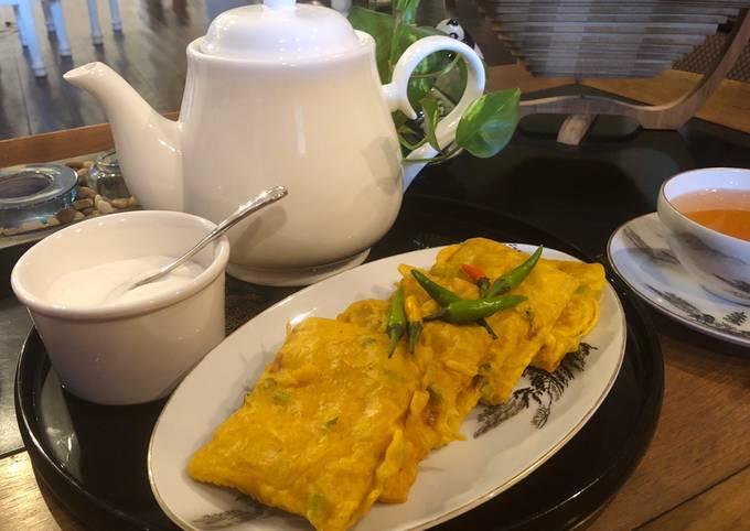 Half- Fried Tempeh in Spiced Batter (Indonesian Tempeh Mendoan)