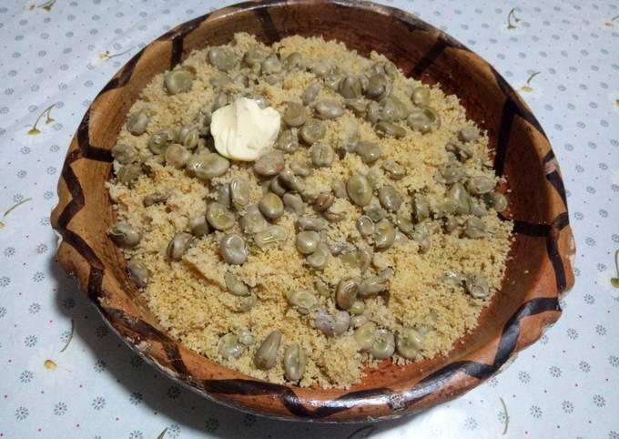 Couscous complet aux fèves 🍶