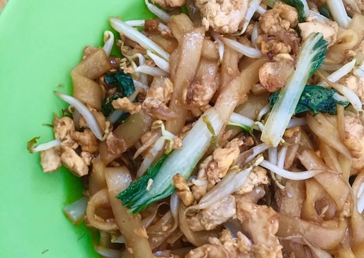 Resep Kwetiaw goreng simple Anti Gagal