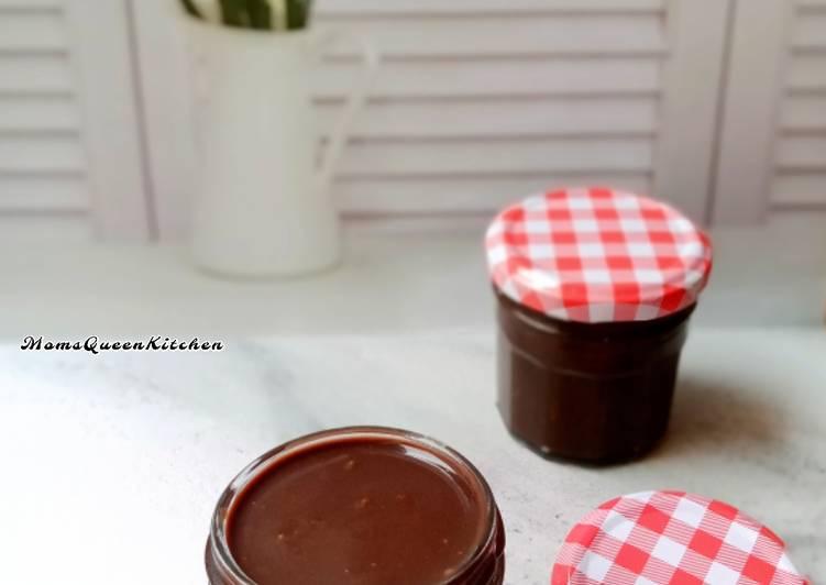 Ganache / Glaze Coklat