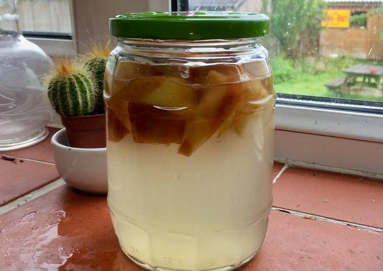 Fermented Apple Water for sourdough Breads