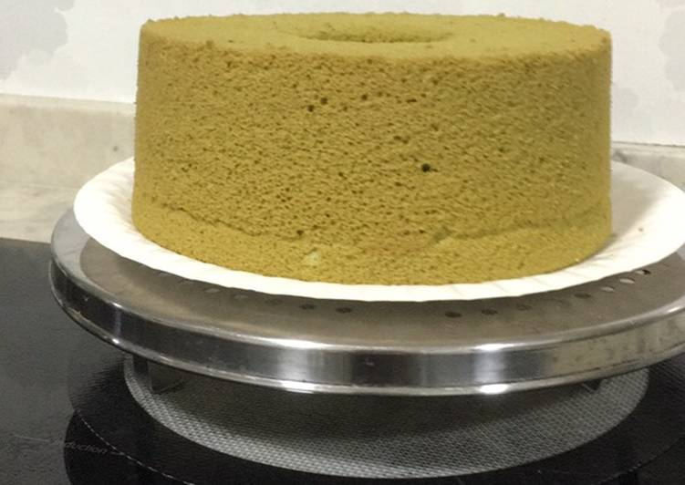 What is Dinner Easy Favorite Matcha Chiffon cake